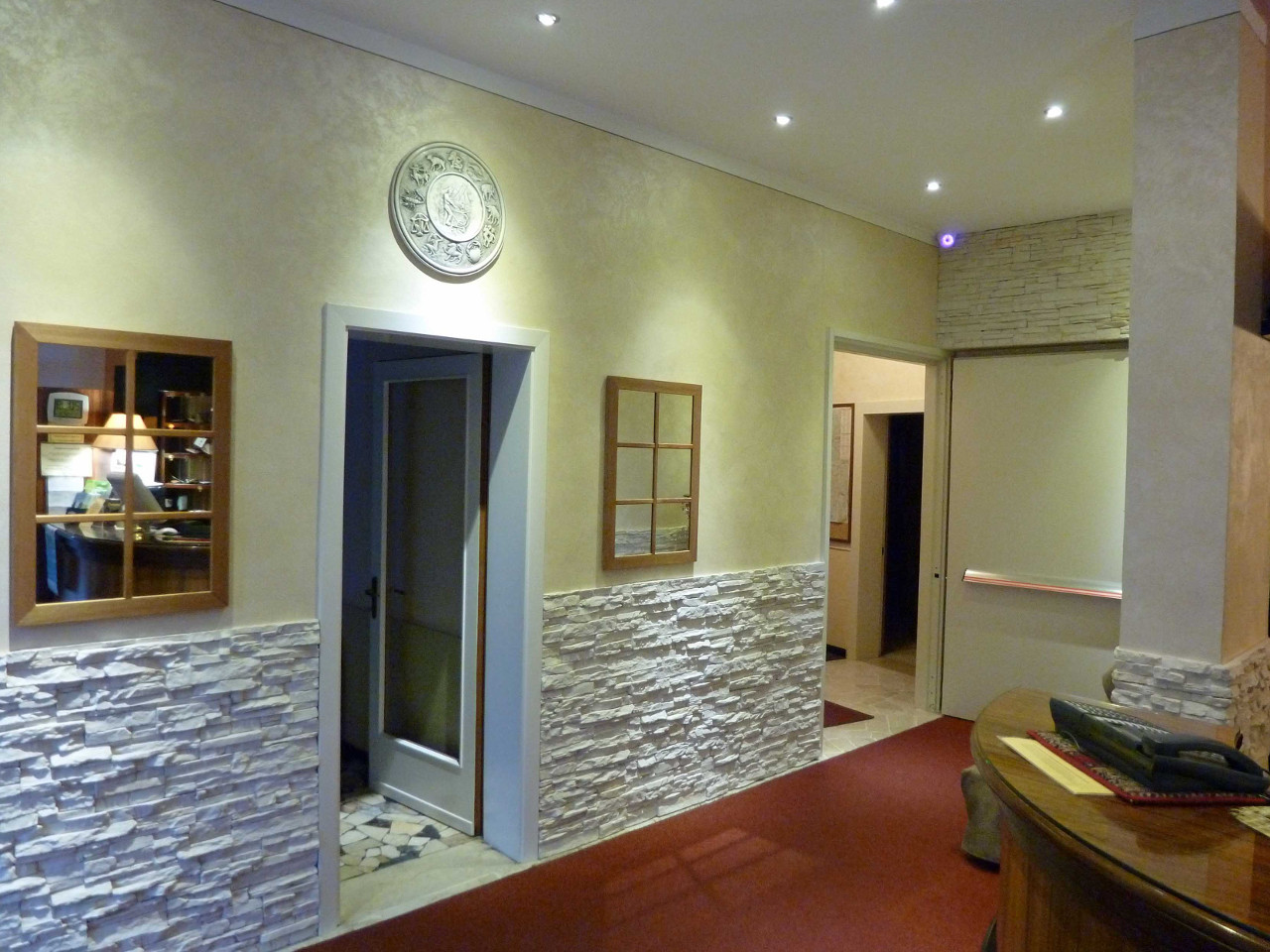Reception Hotel Lanterna - Due Stelle - Abano Terme
